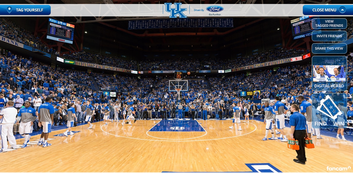 The Kentucky Basketball Fancam – driven by Ford