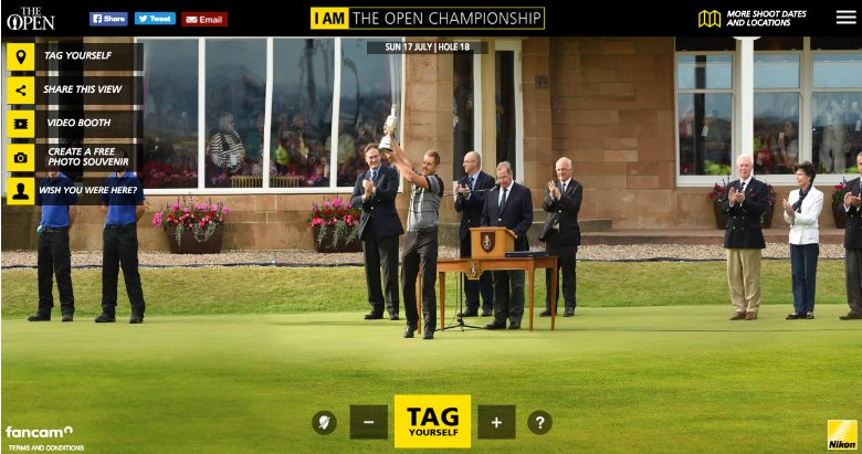 Fancam British Open Stenson